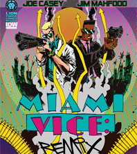 Miami Vice : Remix, nouveau comic de Lion Forge