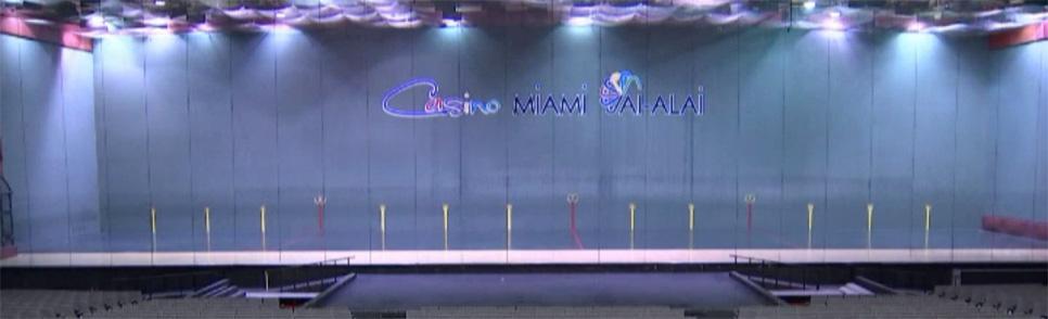 Le miami jai alai sur canal actualit s deux flics for Interieur sport canal plus
